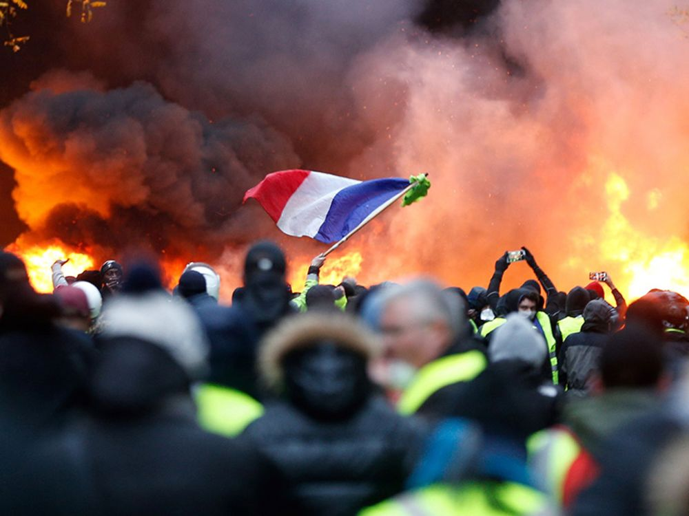 When Burning Cars in Paris Gets You a Tax Freeze