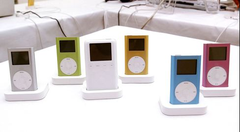 Post-Christmas Recycling Saves Outdated IPods From Dump