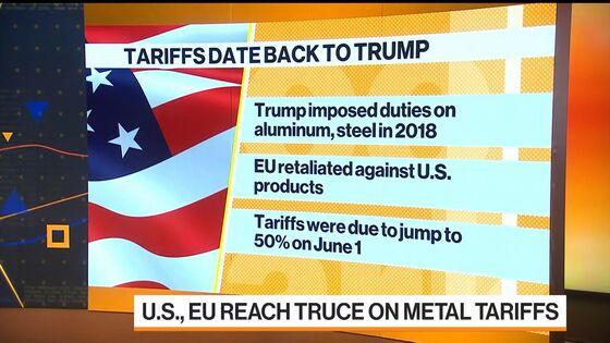 EU, U.S. Reach Truce on Metal Tariffs Ahead of Biden Visit