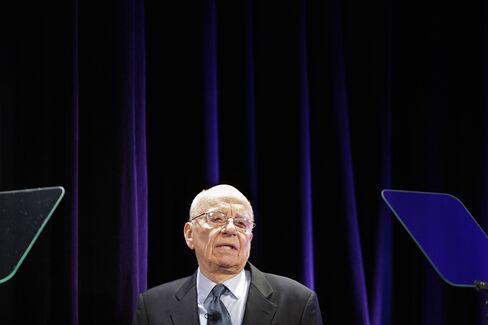 Chairman and CEO of News Corp. Rupert Murdoch