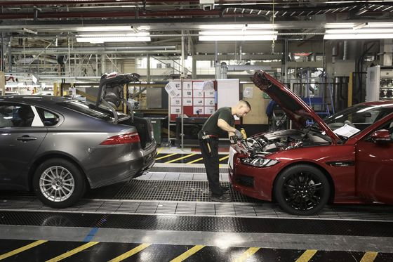 Jaguar Boosts U.K. Auto Sector With Electric Cars Commitment