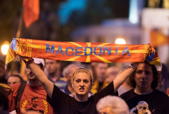 Tiny Macedonia at Crossroads in Struggle to Be Normal