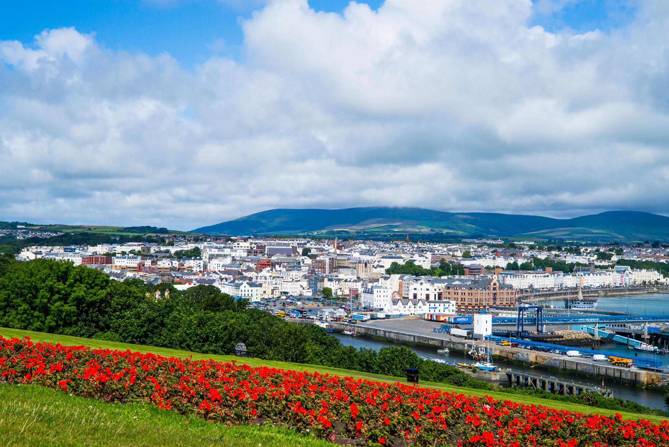 A view of Douglas, the Isle's capital