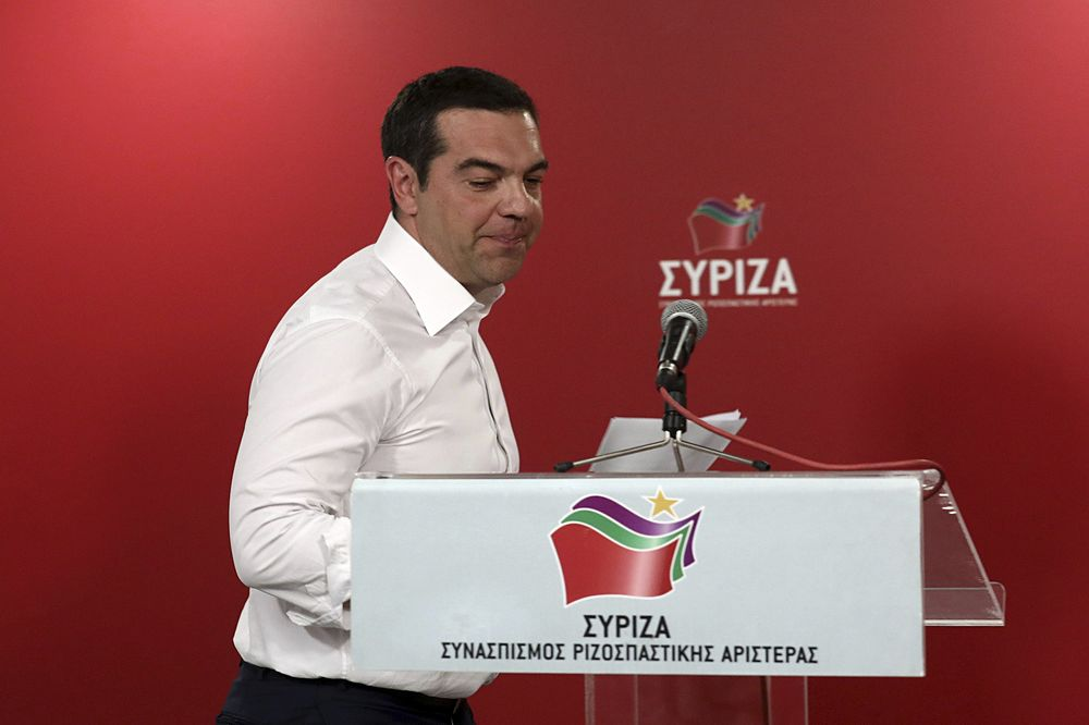 Greece's Tsipras Calls Snap Elections After Stinging EU Defeat