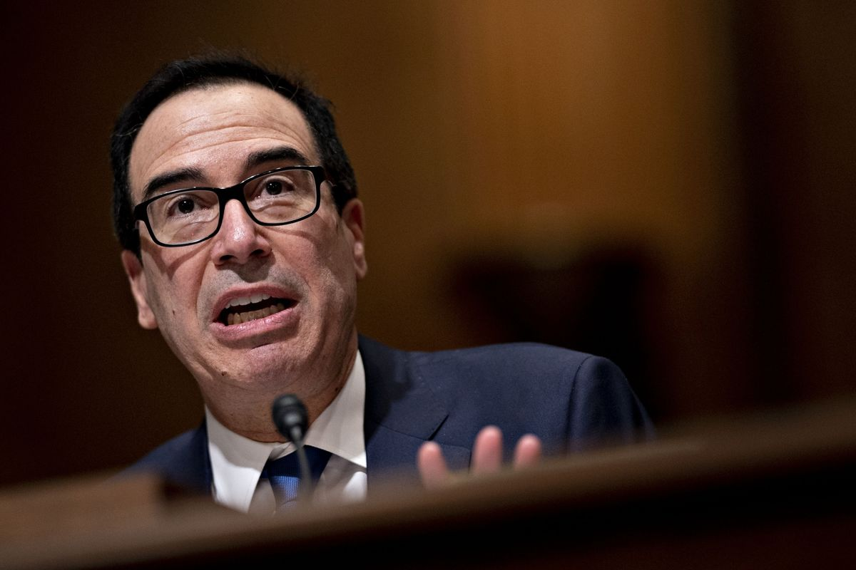 Mnuchin Spurns Investors' Calls to Coordinate More With Fed