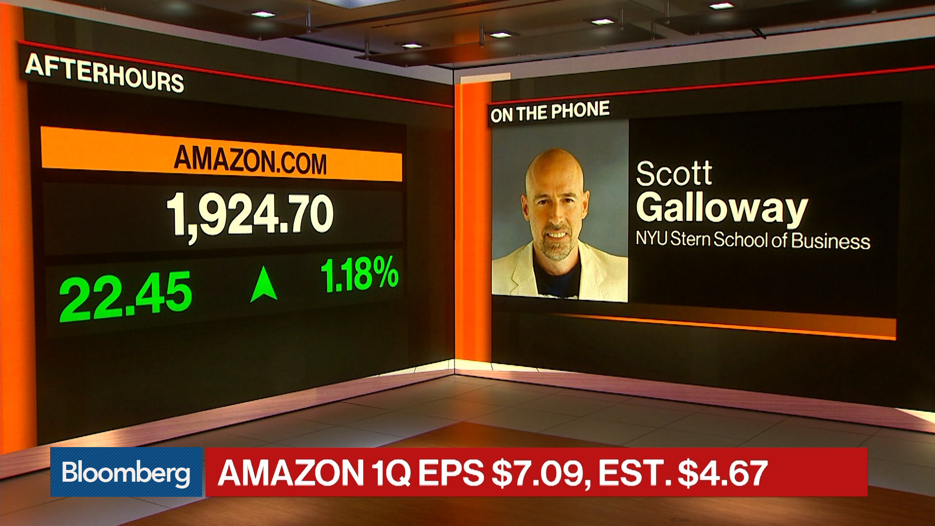 Amazon Is a Juggernaut Firing on All Cylinders, NYU's Galloway Says