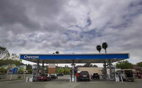Chevron Fueling Station