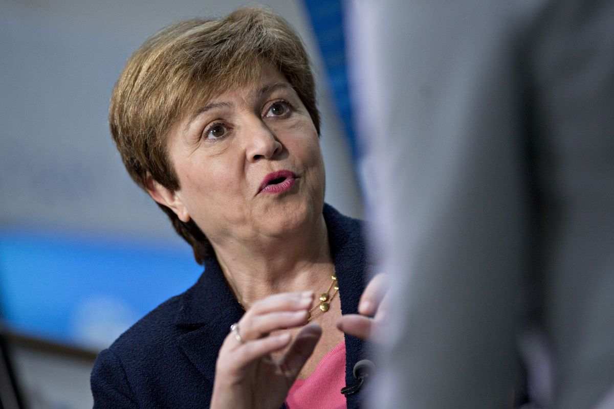 IMF Paves Way for Kristalina Georgieva to Become New Fund Chief