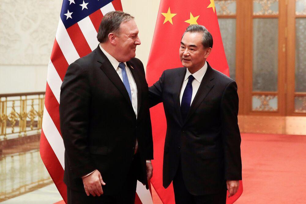 China's Wang Tells Pompeo U.S. Must Negotiate on Equal Basis
