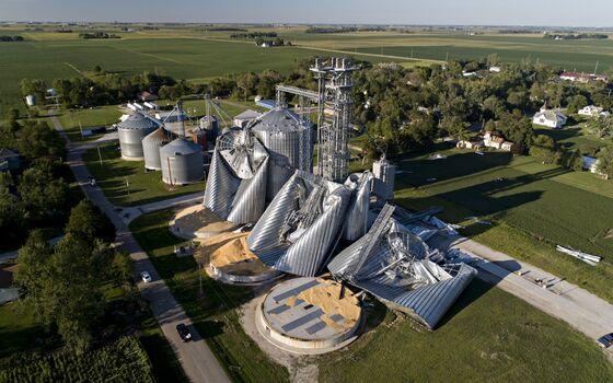 Iowa to Seek Federal Disaster Aid After Last Week's Derecho