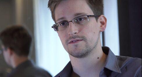 U.S. Contractor Edward Snowden