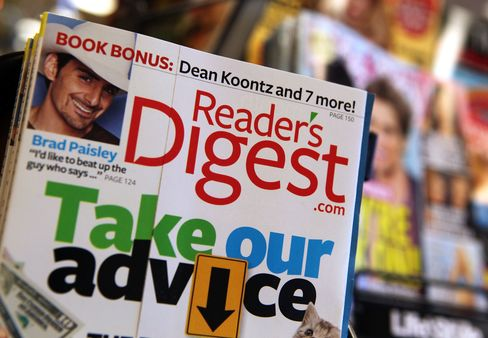 Reader's Digest Files Bankruptcy to Cut $465 Million in Debt