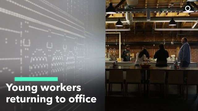 Young Workers Returning to Office