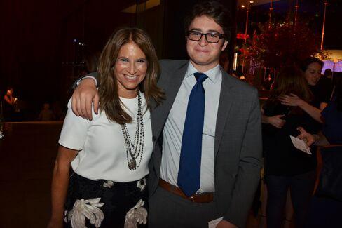 Ann Tenenbaum and her son Nathan Lee Photographer: Amanda Gordon/Bloomberg