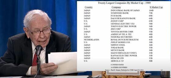 Warren Buffett's Cash Trap Can Snare Big Tech, Too