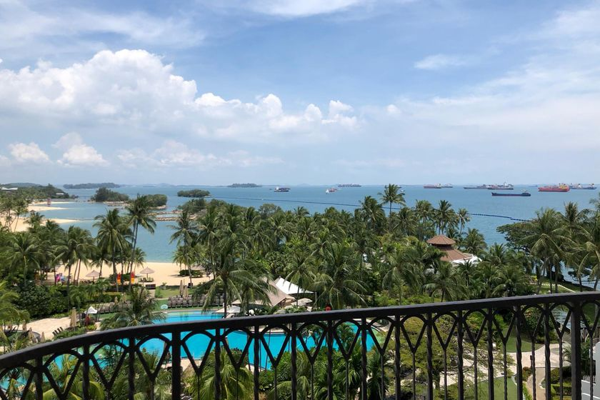 Quarantine in Luxe With a Sea View and Room Service in Singapore