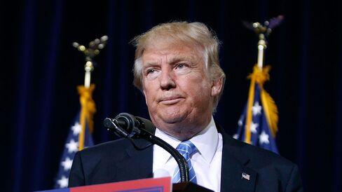 Republican presidential nominee Donald Trump speaks on Aug. 31, 2016, in Phoenix.