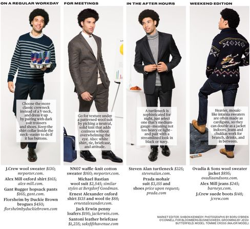 Men's Sweaters for Winter Layering