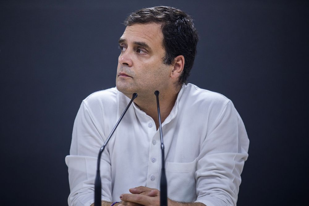 India Opposition Party Leader Rahul Gandhi Resigns