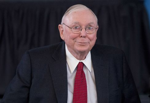 Daily Journal Chairman Charles Munger