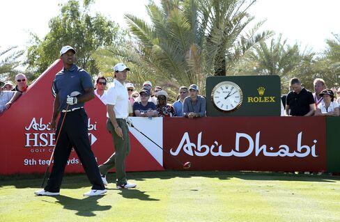 Woods, McIlroy Miss Cut at Abu Dhabi Golf Tournament