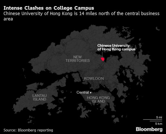 Catapult Gets a Rest as Hong Kong Students Weigh Protest Tactics