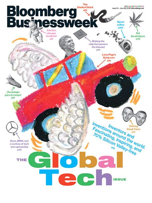 Featured in Bloomberg Businessweek, June 13 - 26, 2016. Subscribe now.