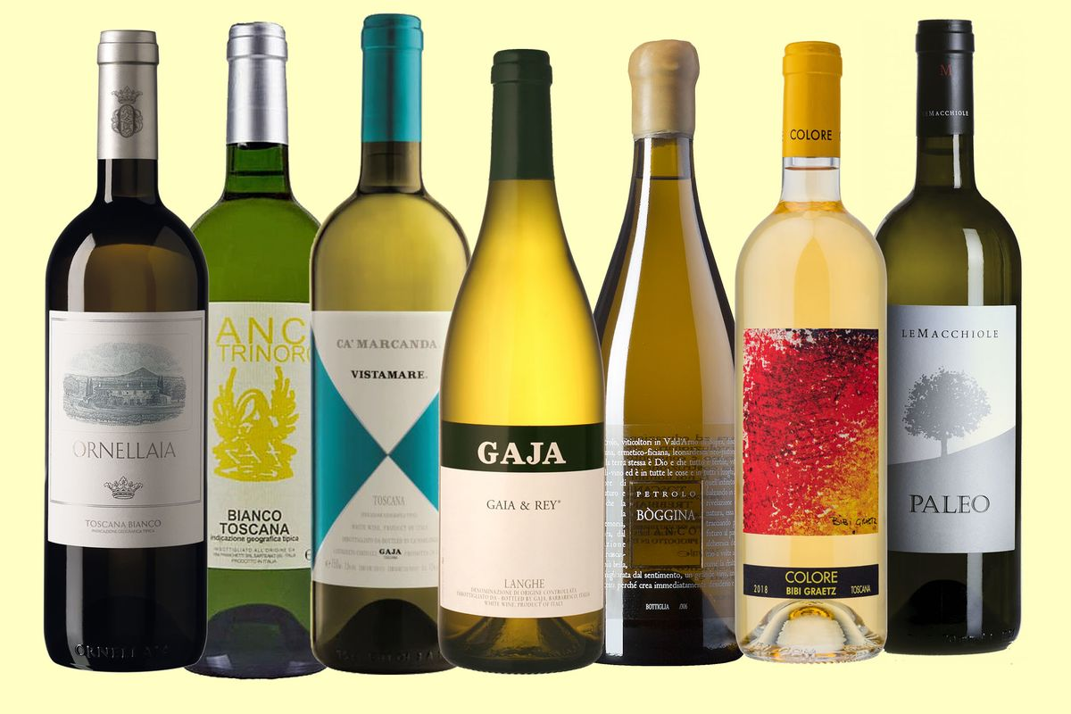 A $450 White Wine From Italy? Winemakers Bet on Big-Deal Biancos