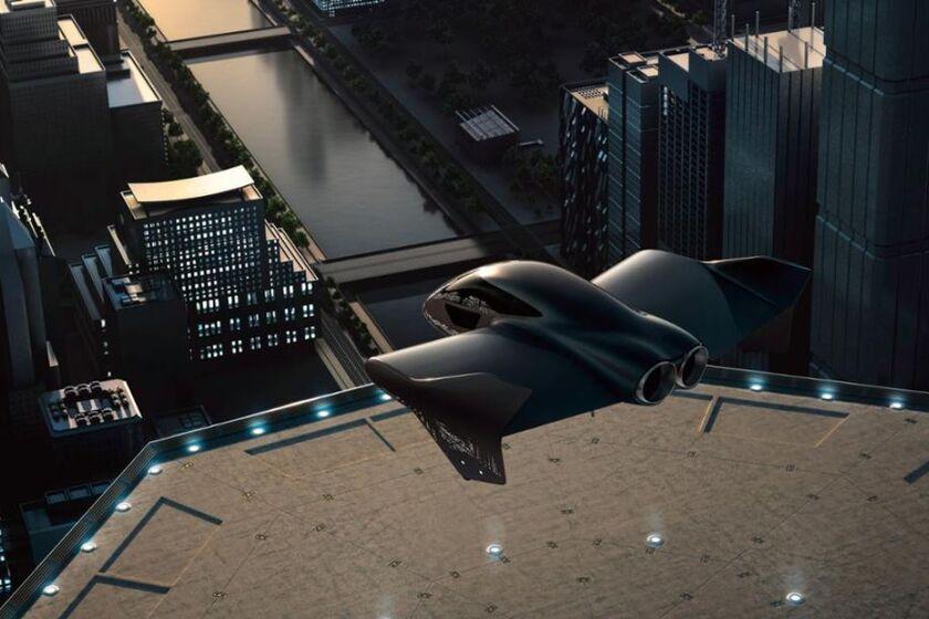 Porsche Boeing concept flying car