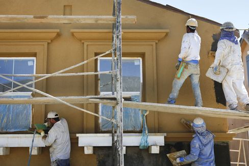 Homebuilding Probably Climbed With Sales: U.S. Economy Preview