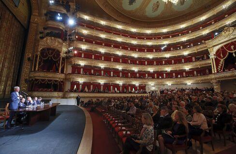 全面改修を終えたモスクワのボリショイ劇場