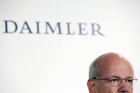 Daimler Leading Bond Sales in U.S. to Busiest Week Since March