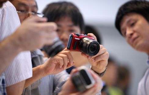 Canon Cuts Full-Year Profit Forecast 6.4% on Weaker Camera Sales