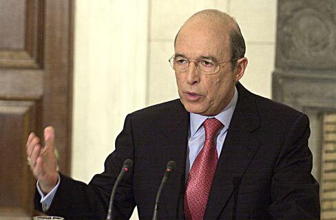 Former Greece's Prime Minister Costas Simitis