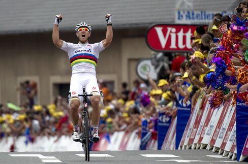 Hushovd Captures Stage 13 of Tour de France