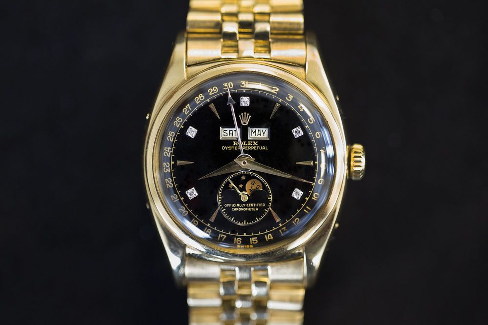 Could This Be The World S Most Expensive Rolex Bloomberg