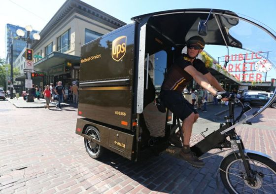 UPS Turns to Pedal Power to Tackle Seattle's Congested Streets