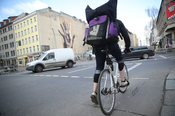 Deliveroo Riders and Lime Juicers Threaten German Labor Model