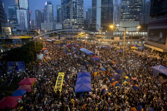 Hong Kong Sentences Occupy Leaders to Up to 16 Months in Prison