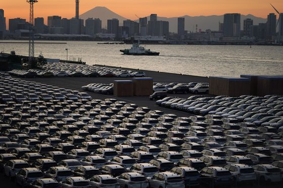 Japan's Car Sales Hit Top Gear as Recovery Picks Up Speed