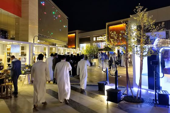 Tax Hikes and Covid Can't Stop Trapped Saudis From Spending