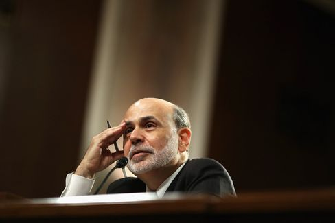 Bernanke Prepares More Punch, Holds Off Serving It