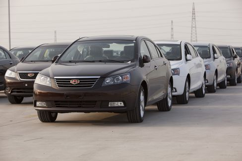 Geely Expects to Become China's Top Car Exporter