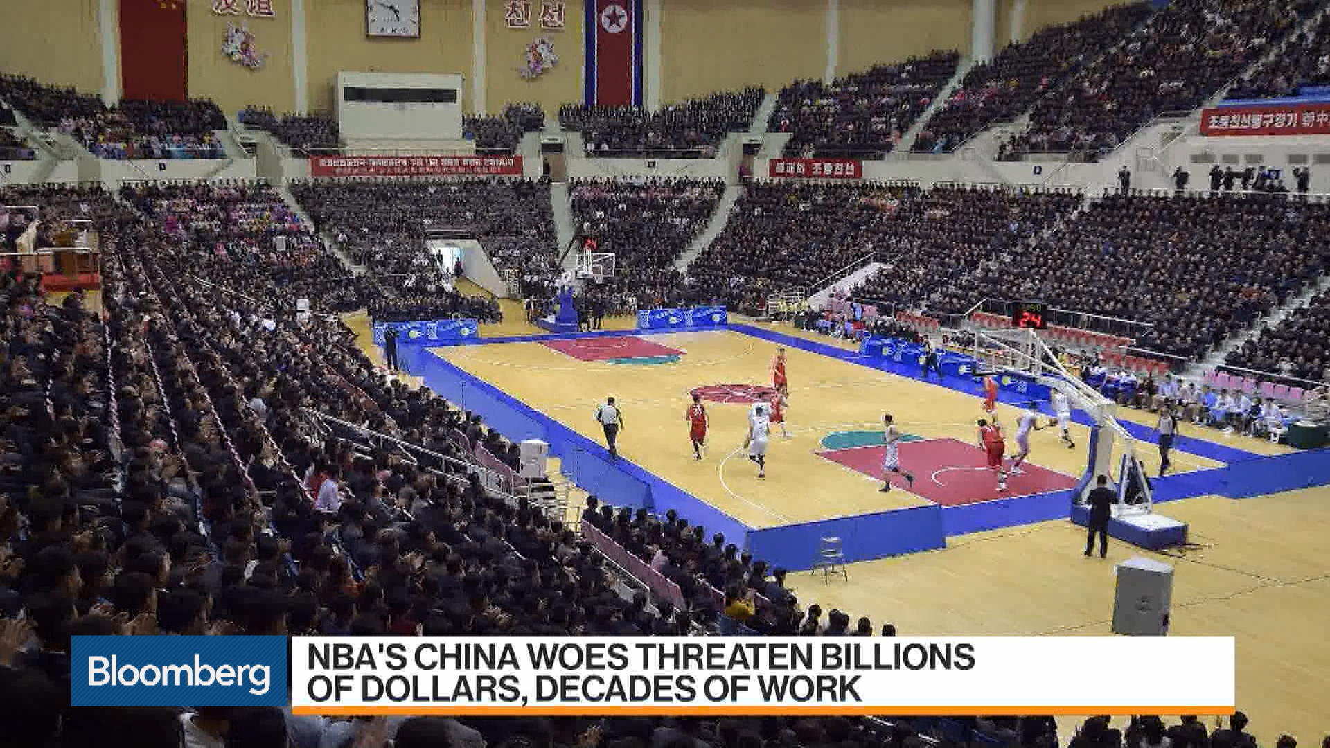 NBA Losing Major Chinese Sponsors