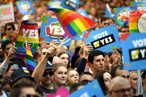 AUSTRALIA-POLITICS-MARRIAGE-RIGHTS-GAY-RELIGION