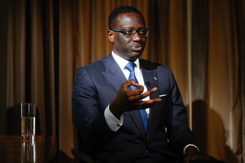 Credit Suisse Group AG Chief Executive Officer Tidjane Thiam Interview As Bank Plans To Cut 2,000 Jobs