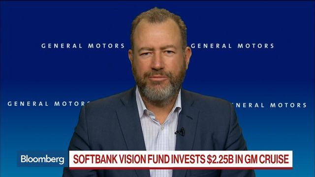 Softbank Vision fund invests $2.25 billion in GM self driving cars