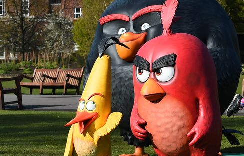 Madame Tussauds Unveil Angry Birds Figures