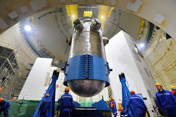 China's First Homegrown Nuclear Reactor Begins Loading Fuel