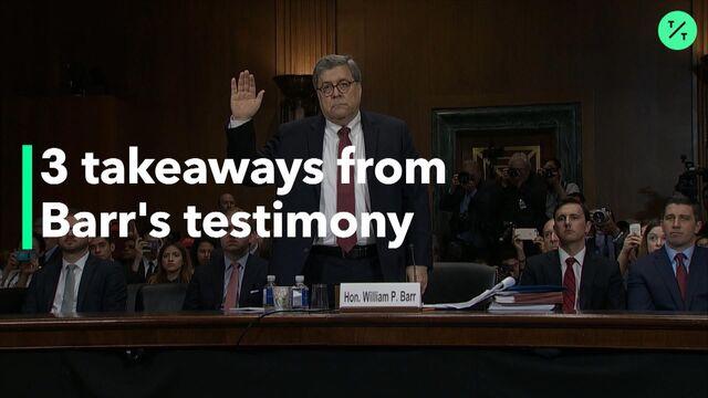 Trump Says He's 'Proud' of Barr for Investigating Mueller Probe's Origin